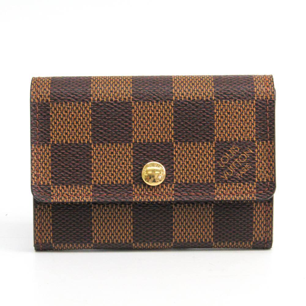 ルイ・ヴィトン(Louis Vuitton) ダミエ N61930 ダミエキャンバス 小銭入れ・コインケース エベヌ
