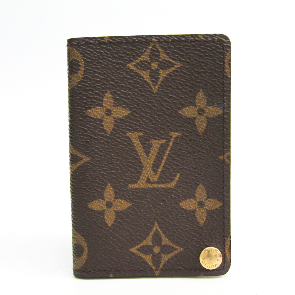 Louis Vuitton Monogram Pression Card Case M60937 Monogram Card Case Monogram
