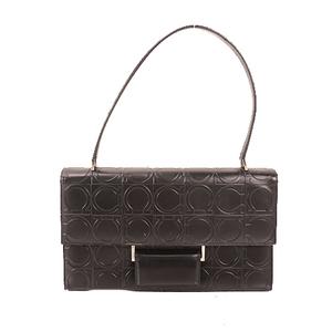 Auth Salvatore Ferragamo Gancini  Shoulderbag Women's Leather