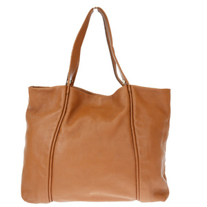 Furla Leather Tote Bag Brown