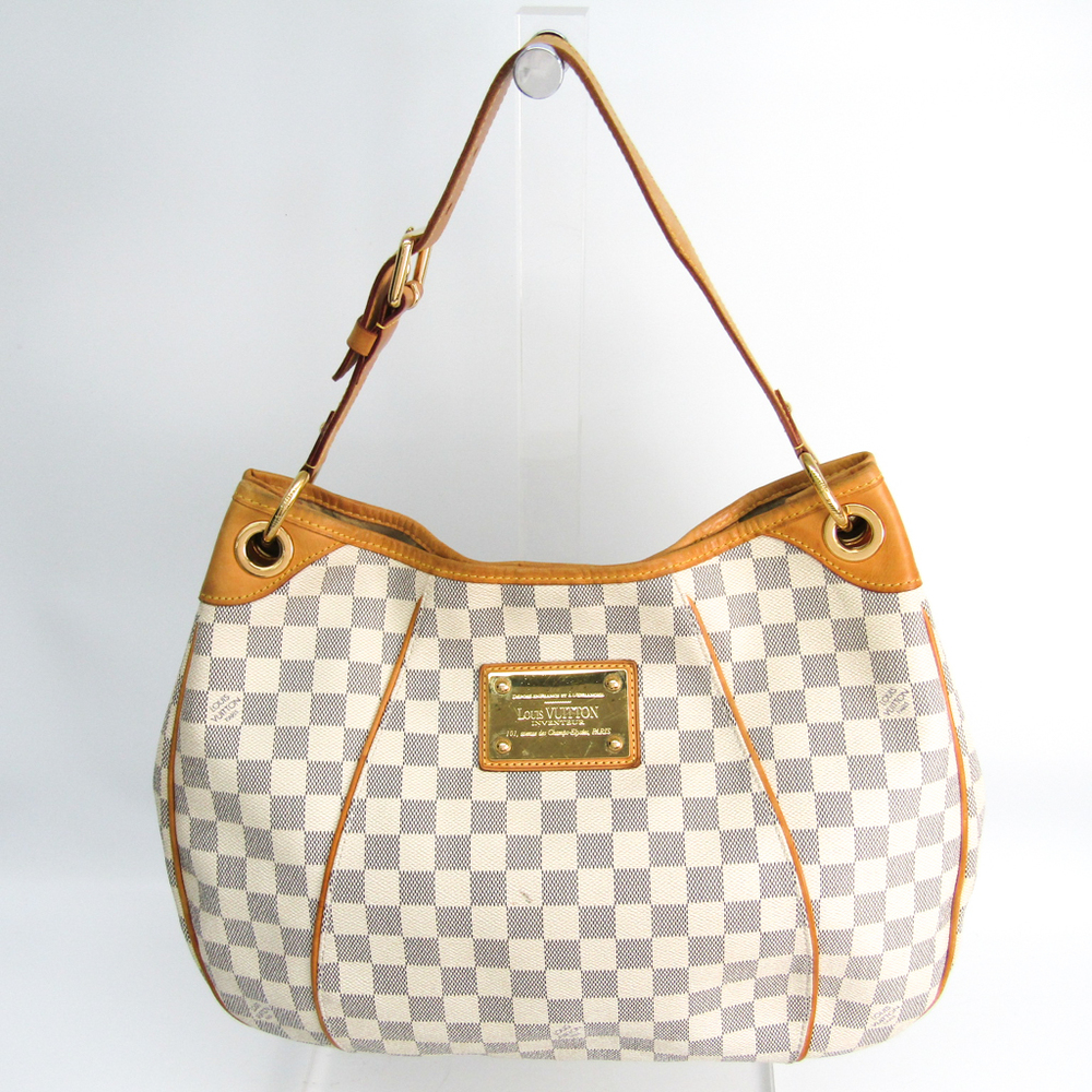 Louis Vuitton Damier Galliera PM N55215 Women's Handbag Azur