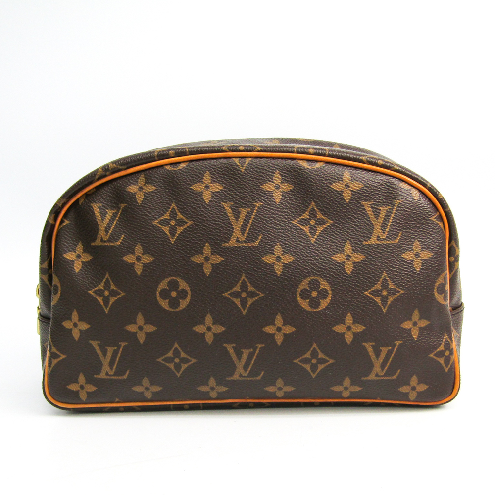 Louis Vuitton Monogram Trousse Toilette 25 M47527 Women's Pouch Monogram