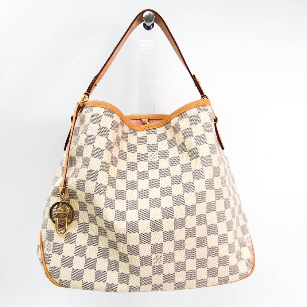 Louis Vuitton Damier Delightful PM N41606 Women's Shoulder Bag Damier Azur