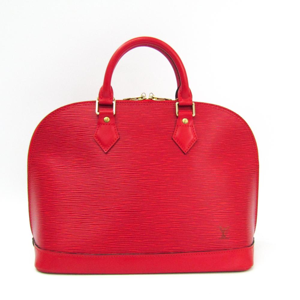 Louis Vuitton Epi Alma M52147 Handbag Castilian Red