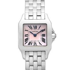 Cartier Santos Demoiselle Quartz Stainless Steel Women's Dress Watch W25075Z5