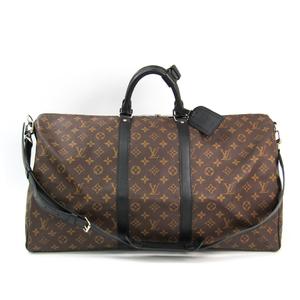 ルイ・ヴィトン(Louis Vuitton) モノグラム・マカサー キーポル・バンドリエール55 M56714 ユニセックス ボストンバッグ モノグラム・マカサー