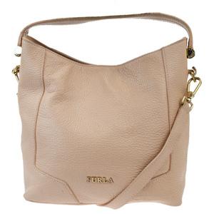 Furla 2WAY Leather Shoulder Bag Pink