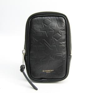 ジバンシィ(Givenchy) プチサック BK05015255 ユニセックス レザー ポーチ ブラック