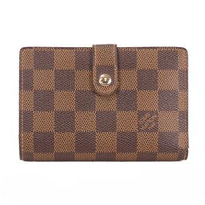 ルイヴィトン 二つ折り財布 ダミエ ポルトフォイユヴィエノワ N61674