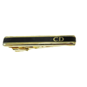 Christian Dior Metal Tie Pin Gold