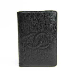 Chanel A13503 Caviar Leather Business Card Case Black