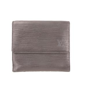 ルイヴィトン 二つ折り財布 エピ ポルトモネビエカルトクレディ M63482