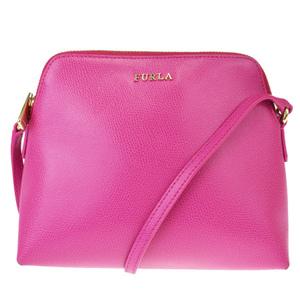 Furla Leather Shoulder Bag Pink