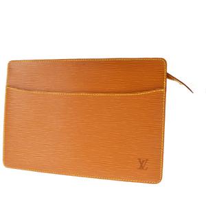 ルイ・ヴィトン(Louis Vuitton) エピ ポシェット オム M52528 クラッチバッグ ジパングゴールド