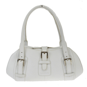 Loewe Leather Shoulder Bag White