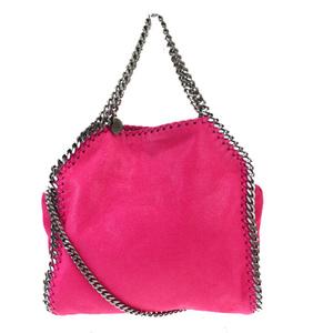 ステラ・マッカートニー(Stella McCartney) 2WAY チェーン レザー ショルダーバッグ ピンク