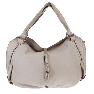 Celine Bittersweet Leather Shoulder Bag Beige