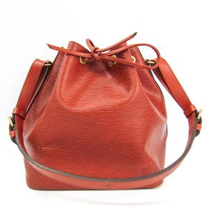 Louis Vuitton Epi Petit Noe M44103 Women's Shoulder Bag Kenyan Brown