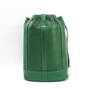 Louis Vuitton Epi Petit Randonnee M52354 Handbag Borneo Green