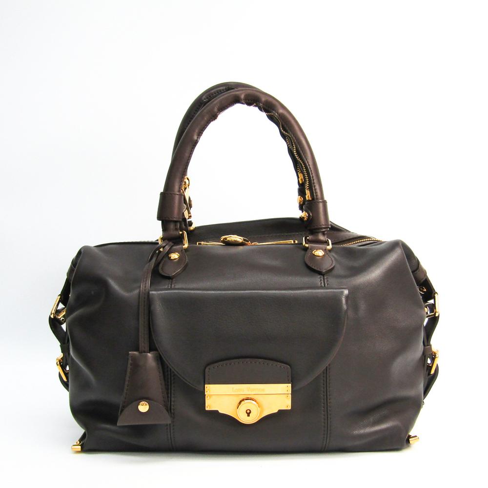 ルイ・ヴィトン(Louis Vuitton) サック・ルイ VIP顧客限定品 レディース ハンドバッグ ダークブラウン