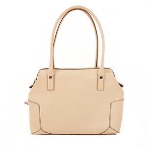 Salvatore Ferragamo Shoulder Bag Women's Leather Handbag,Shoulder Bag Beige