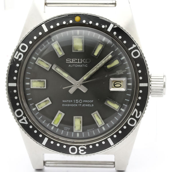 Seiko Automatic Stainless Steel Men's Sports Watch 6217-8001