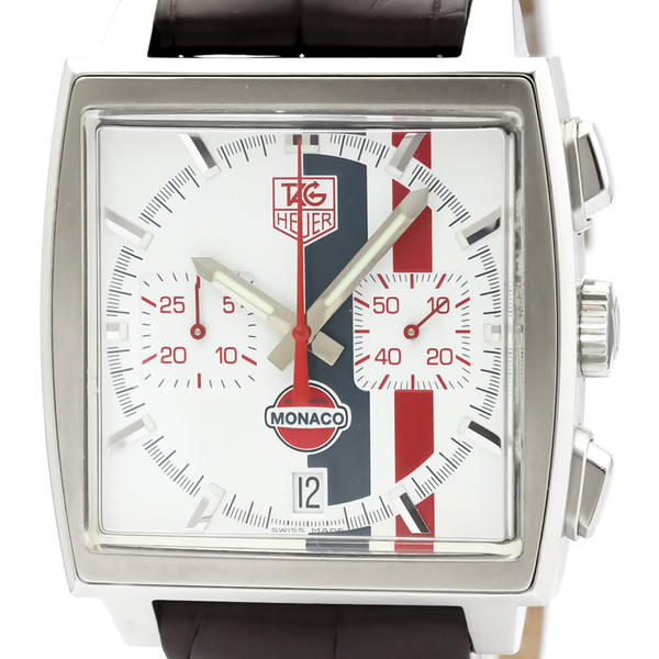 Tag Heuer Monaco Automatic Stainless Steel Men's Sports Watch CW2118