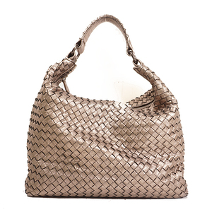 Bottega Veneta Intrecciato Shoulder Bag Women's Intrecciato Shoulder Bag Bronze