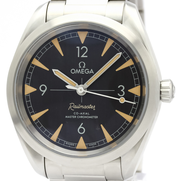 Omega Seamaster Automatic Stainless Steel Men's Sports Watch 220.10.40.20.01.001