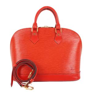 ルイ・ヴィトン(Louis Vuitton) エピ アルマ Alma M52147 ハンドバッグ カスティリアンレッド