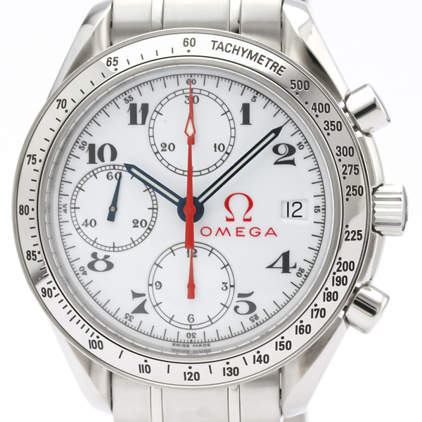 OMEGA Speedmaster Date Steel Automatic Mens Watch 3515.20