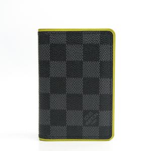 ルイ・ヴィトン(Louis Vuitton) ダミエグラフィット オーガナイザー・ドゥ・ポッシュ  N63255 ダミエグラフィット カードケース ダミエ・グラフィット,イエロー