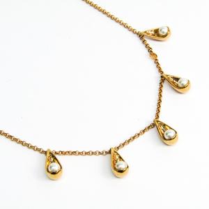ルイ・ヴィトン(Louis Vuitton) メタル,レジン レディース ネックレス (ゴールド) コリエ パーリーグラム M67329