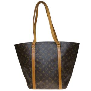 Auth Louis Vuitton Monogram M51108 Sack Shopping Women's Shoulder Bag