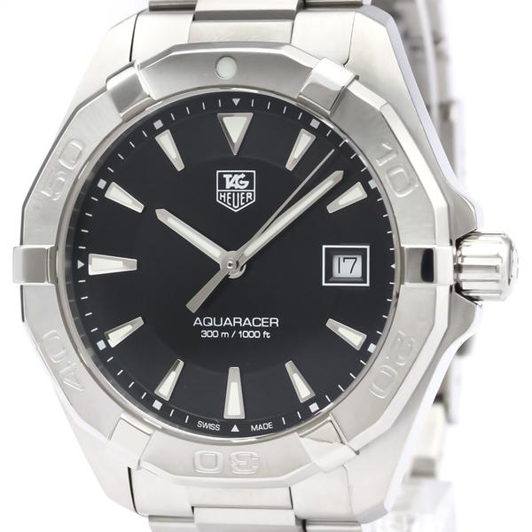 Tag Heuer Aquaracer Quartz Stainless Steel Men's Sports Watch WAY1110