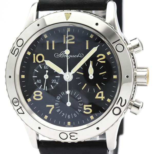 Breguet Aeronavale Automatic Stainless Steel Men's Sports Watch 3800