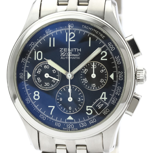 ZENITH Class El Primero Steel Automatic Mens Watch 02.0500.400