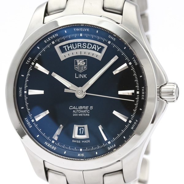 TAG HEUER Link Calibre 5 Day Date Automatic Mens Watch WJF2010