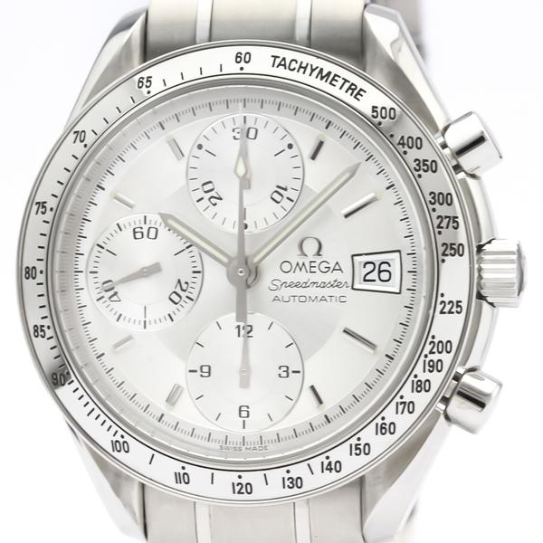 OMEGA Speedmaster Date Steel Automatic Mens Watch 3513.30
