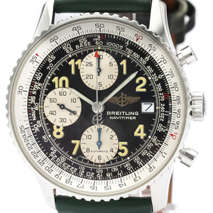 BREITLING Old Navitimer Steel Automatic Mens Watch A13022