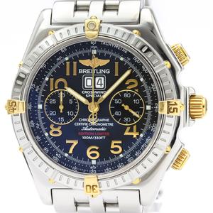 Breitling Crosswind Automatic Stainless Steel,Yellow Gold (18K) Men's Sports Watch B44356