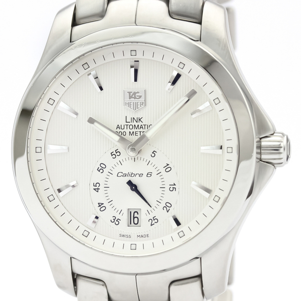 Tag Heuer Link Automatic Stainless Steel Men's Sports Watch WJF211B