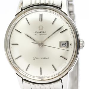 オメガ(Omega) シーマスター 自動巻き ステンレススチール(SS) メンズ ドレスウォッチ 166.002