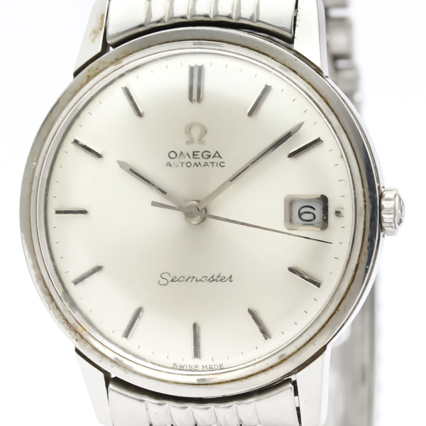 Omega Seamaster Automatic Stainless Steel Men's Dress Watch 166.002
