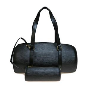 Auth Louis Vuitton Epi M52222 Suflo Handbag Noir