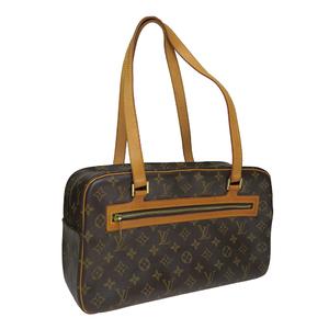 Auth Louis Vuitton Monogram M51181 Cite GM Shoulder Bag