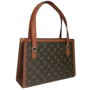 Auth Louis Vuitton Monogram Vintage Handbag,Tote Bag