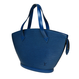 Auth Louis Vuitton Epi M52275 Sunjack Handbag Toledo Blue