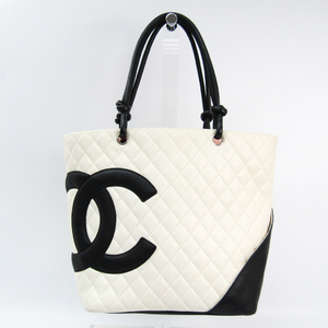Chanel Ligne Cambon A25169 Cambon Ligne Tote Bag Black,White