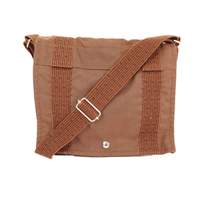 Hermes Her Line Bathus Pm Unisex,Women,Men Canvas Shoulder Bag Brown